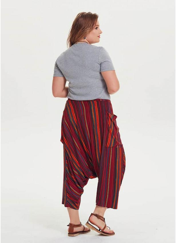 Büyük Beden Şalvar Pantolon