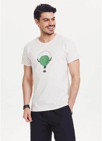 Erkek Tişört - Te02beyaz