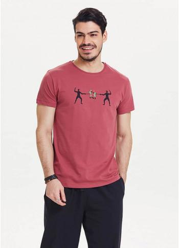 Erkek Tişört - Te02bordo