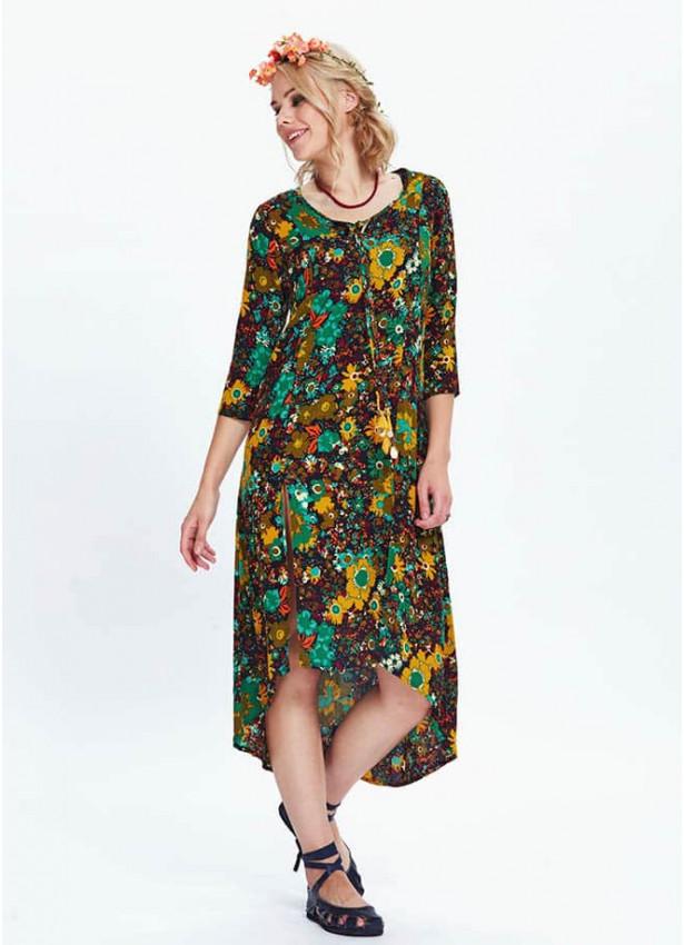 Çiçekli Elbise - E66yesilcesni