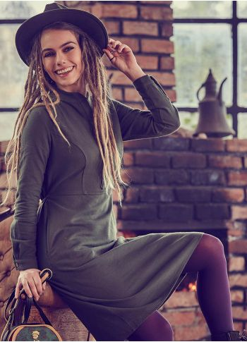 Haki Elbise - Ke02haki