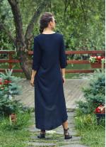 Bohem Truvakar Kol Yırtmaçlı Siyah Tunik Elbise
