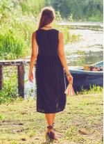 Otantik Tunik Siyah Elbise