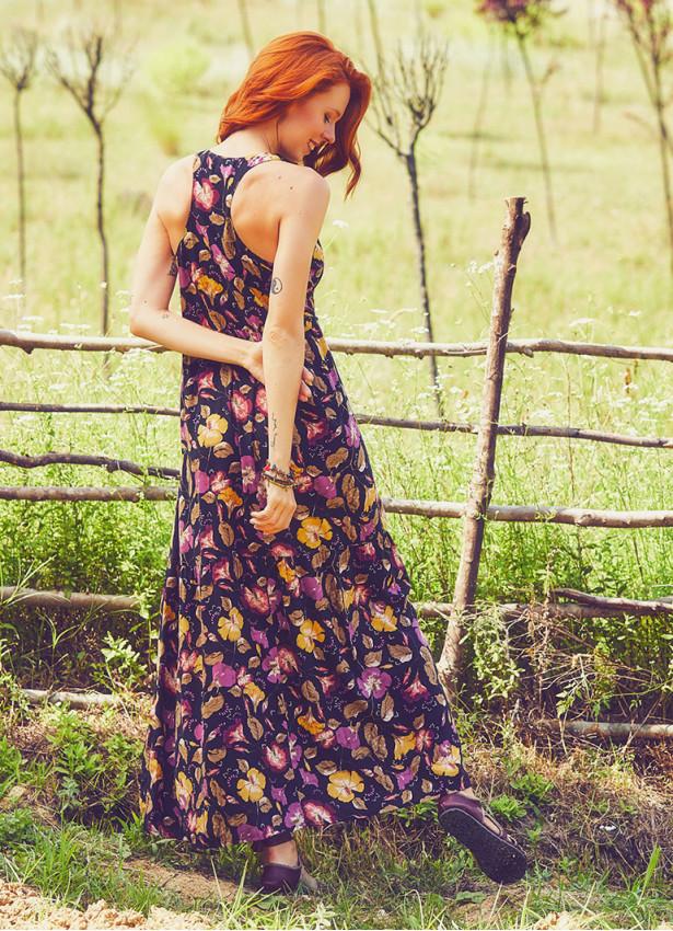 Yazlık Uzun Siyah Elbise