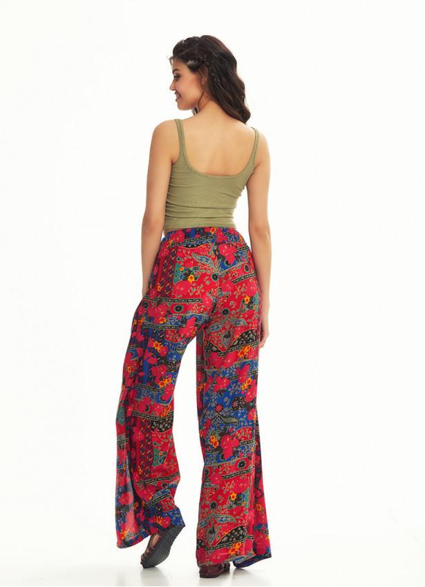 Etnik Bilmece Roma Desen Pantolon