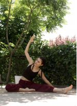 Şalvar Bordo Yoga Pantolon